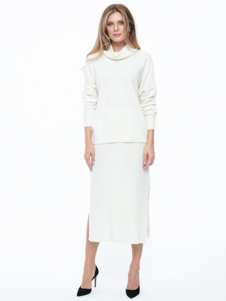 Biały sweter Hela